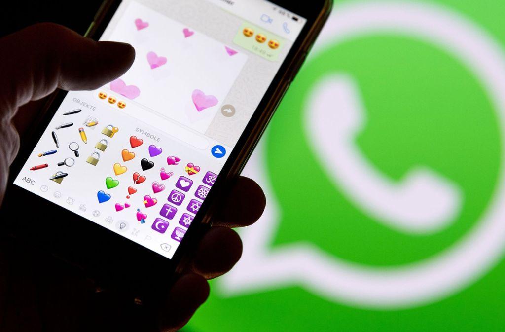 Ob der WhatsApp-Account gesperrt wurde, wird dem Nutzer nicht mitgeteilt. Foto: dpa
