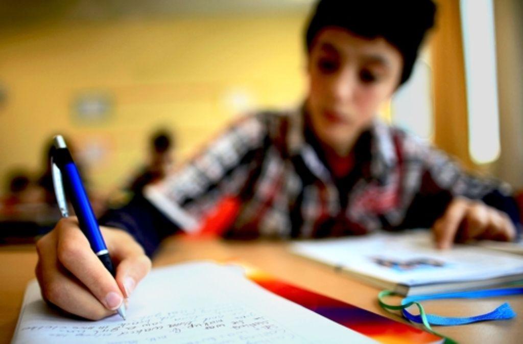 Zwei von drei Werkrealschulen in den oberen Neckarvororten sollen geschlossen werden. Foto: dpa
