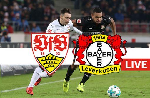 Liveticker: Der VfB empfängt Bayer 04 Leverkusen