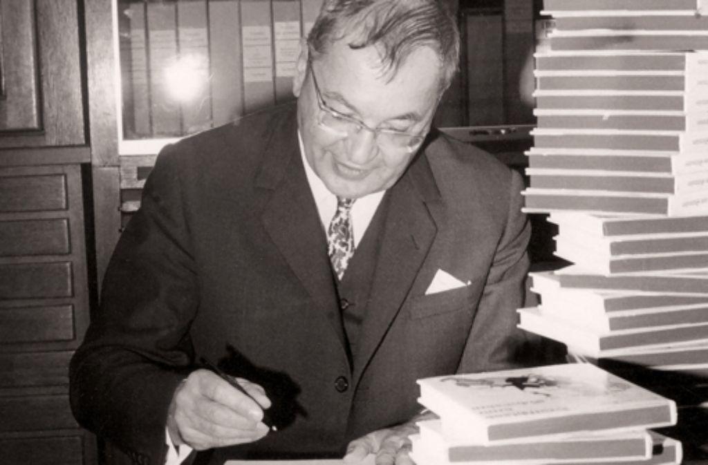 Thaddäus Troll wäre am 18. März 100 Jahre alt geworden. Foto: Silberburg-Verlag/Dr. Bayer