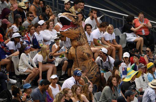 So schön feiern die Fans bei den Australian Open