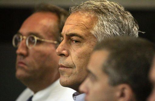 Frühere Vertraute von Jeffrey Epstein festgenommen