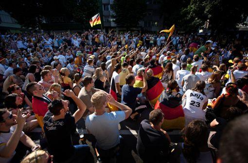 Wo das Deutschlandspiel öffentlich zu sehen ist