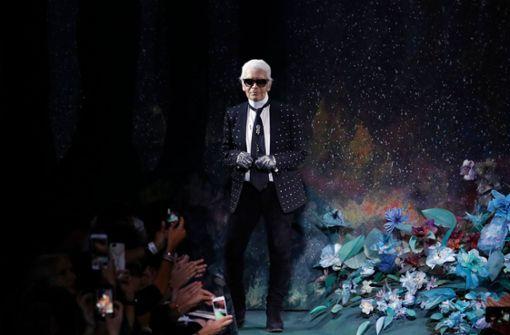 Hommage an  Modeschöpfer Karl Lagerfeld