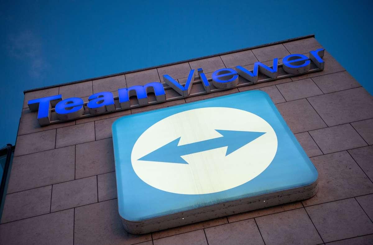 Der Nettogewinn von Teamviewer   lag im abgelaufenen Quartal bei 14,7 Millionen Euro. Foto: dpa/Sebastian Gollnow