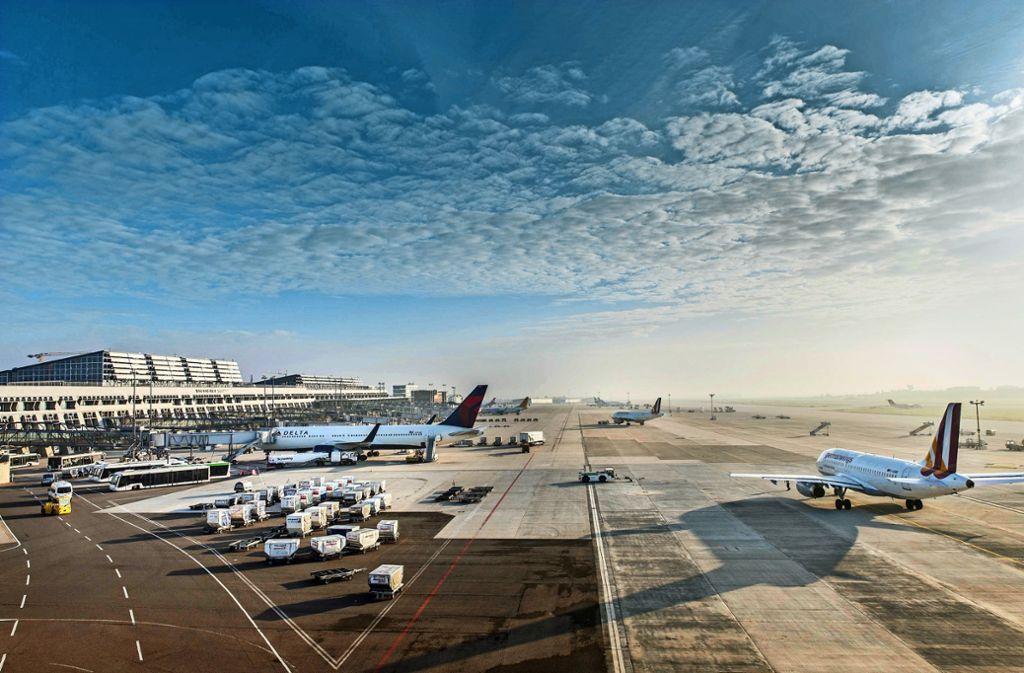 Im Frühjahr wird die Startbahn am Stuttgarter Flughafen saniert. Foto: Flughafen Stuttgart