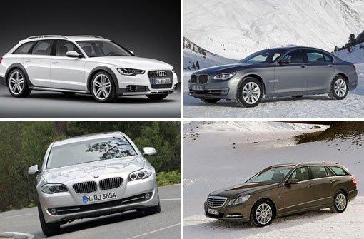 Die Autos der Bischöfe im Vergleich