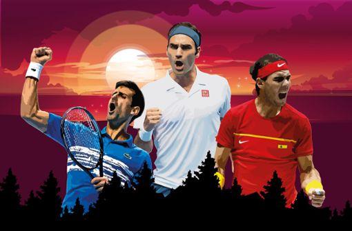 Kommt die Wachablösung im Tennis?