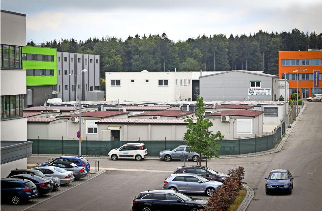 In dieser Unterkunft an der Margarete-Steiff-Straße werden die Flüchtlinge untergebracht. Foto: factum/Granville
