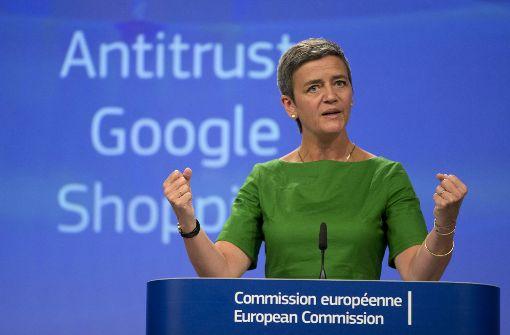 EU-Rekordstrafe von 2,42 Mrd. Euro gegen Google
