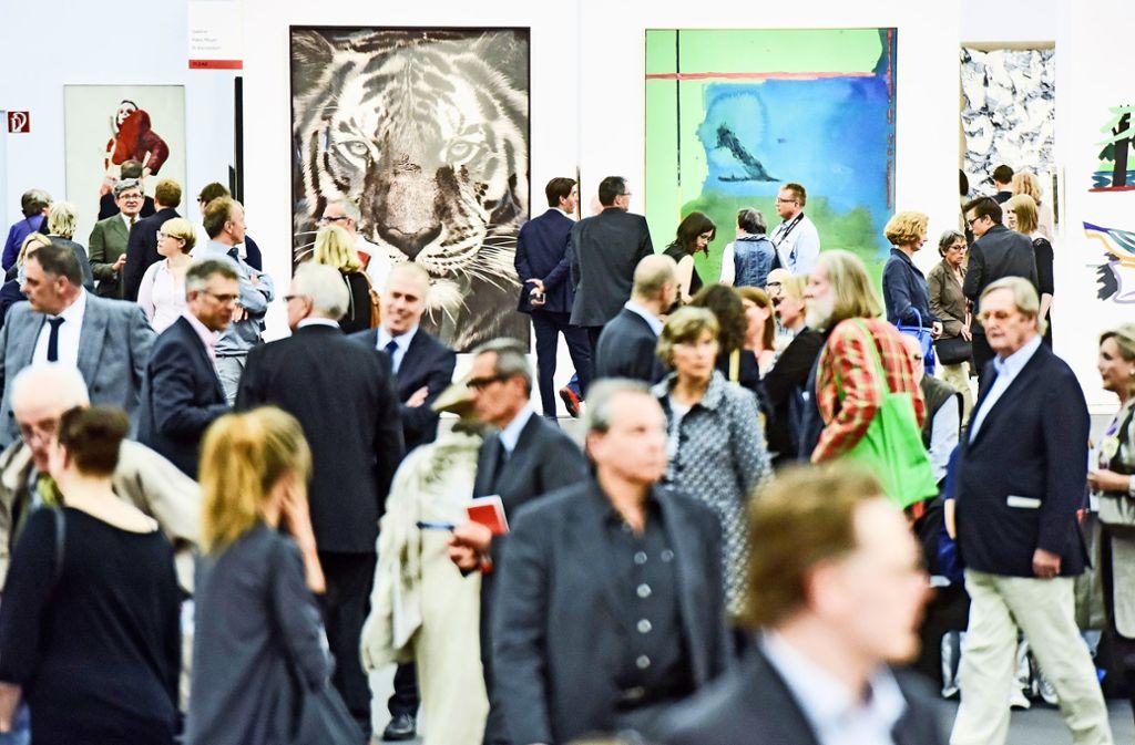 Der Kölner Kunst-Trubel (Foto: Archivbild) findet in diesem Jahr im  November statt. Foto: Art Cologne