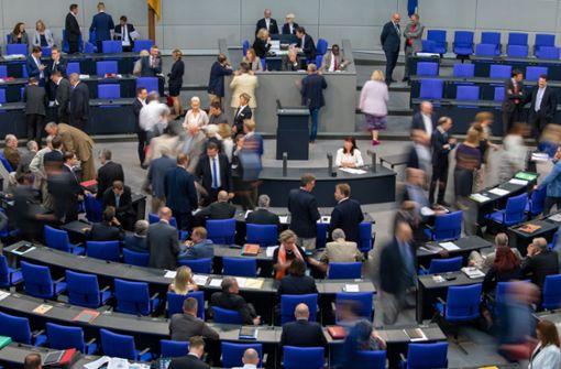 Kein nächtlicher Hammelsprung im Bundestag