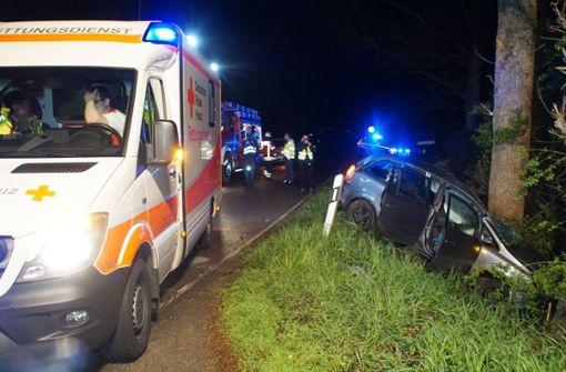 Autofahrer stirbt bei Unfall nahe Tiefenbronn