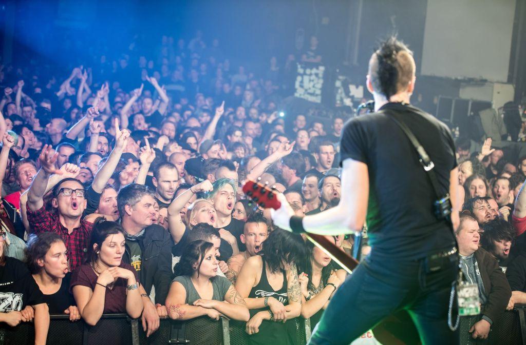 Bei einem Pop- oder Rockkonzert ist nicht nur wichtig, wer auftritt (hier Wizo), sondern auch ob die Location passt (in dem Fall das LKA). Die Bilderstrecke stellt die wichtigsten Stuttgarter Liveclubs und Konzerthallen vor. Foto: Martin Stollberg