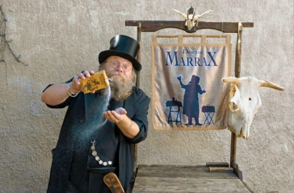 Auch der Feuerbacher Zauberer Dr. Marrax gehört dem Magischen Zirkel an. Foto: Tom Bloch