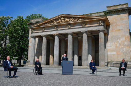 Steinmeier warnt vor Schlussstrich unters Erinnern