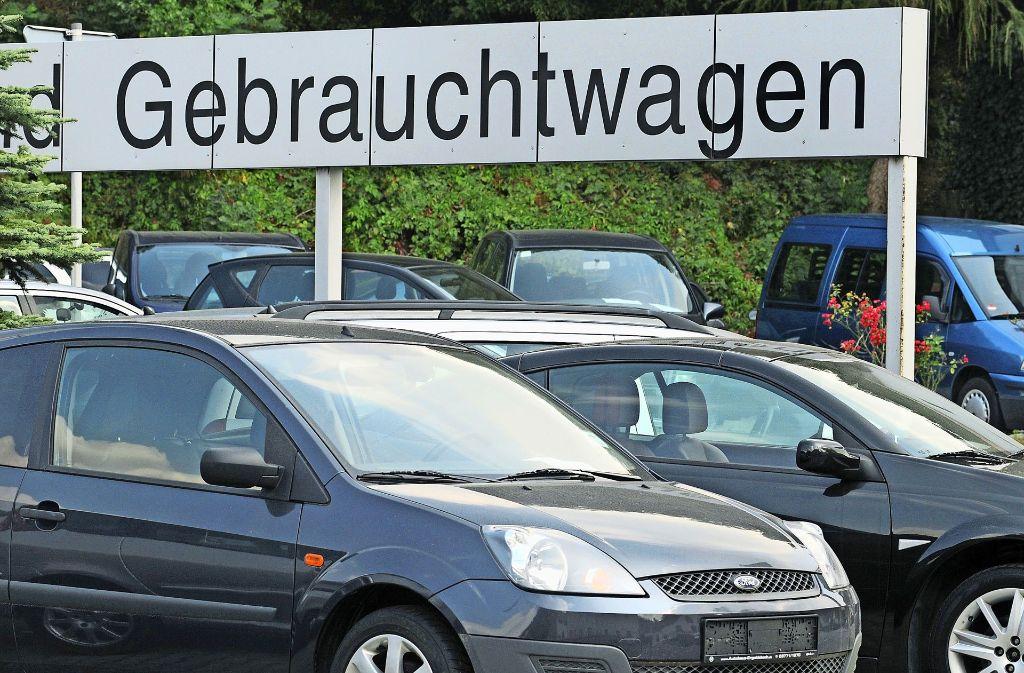 In Stuttgart sind gebrauchte Diesel-Fahrzeuge besonders gefragt – warum, weiß niemand so genau. Foto: dpa