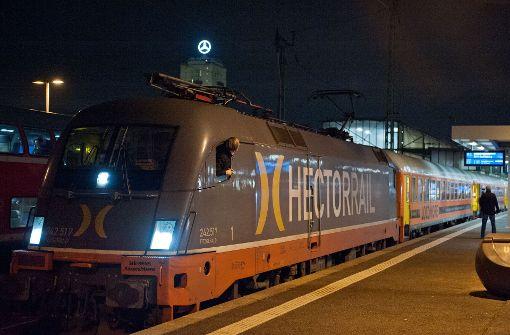 Privater  Zug rollt  nach Berlin