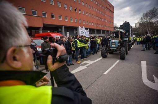 Kritik an Diesel-Demos in Stuttgart