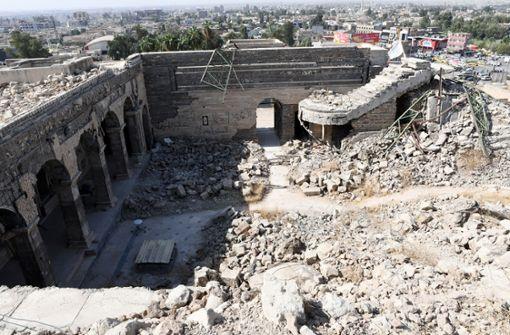 Heidelberger Archäologen erforschen jahrtausendealten Palast im Irak