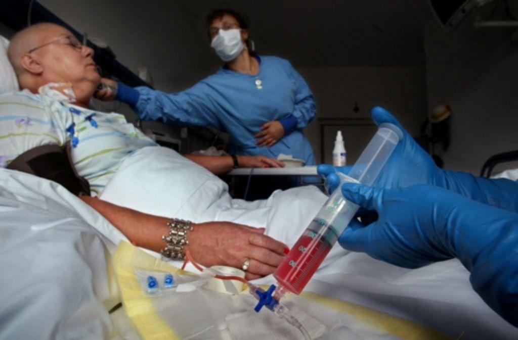 Viele Leukämiepatienten haben ohne Stammzellenspender keine Hoffnung. Foto: dpa