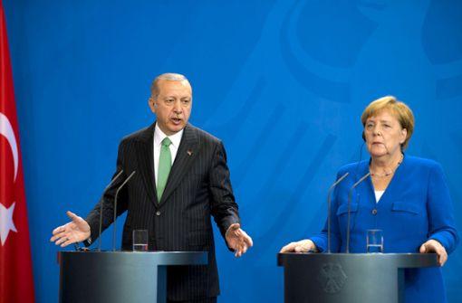 Was Merkel mit Erdogan zu besprechen hat