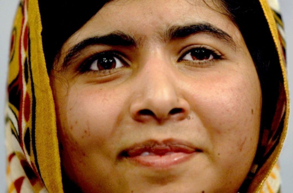 Friedensnobelpreisträgerin Malala Yousafzai Foto: dpa