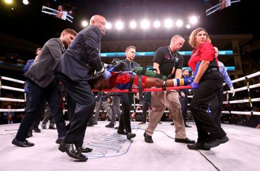 US-Boxer kämpft nach schwerem K.o. um sein Leben