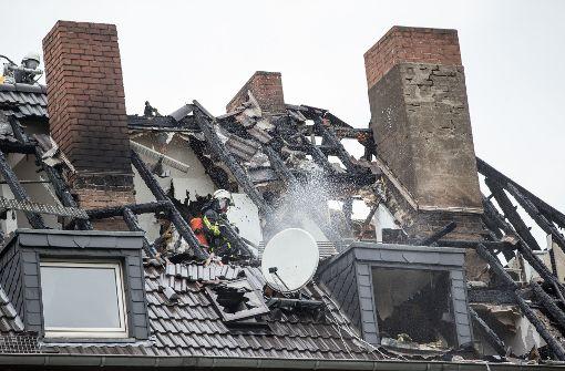 Das brennende Fernsehgerät hat fatale Folgen