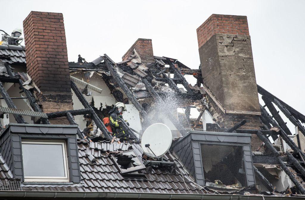 Die Ursache für den Brand bei Frau W. ist unklar. Die Wohnung muss saniert werden. Foto: dpa