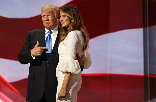 Melania Trump beschuldigt Moderator