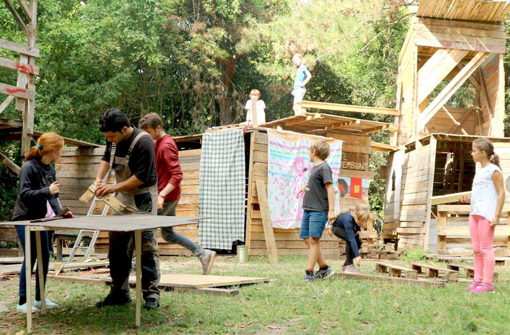 Im Sommer bietet die Etzelfarm auch Ferienbetreuung an. Foto: Etzelfarm
