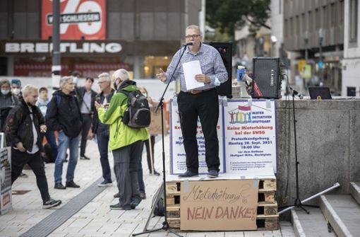 """""""Mehr Miete geht nicht""""- Protest gegen Pläne der SWSG"""