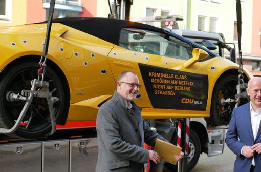 CDU-Aktion mit gemietetem Lamborghini geht nach hinten los
