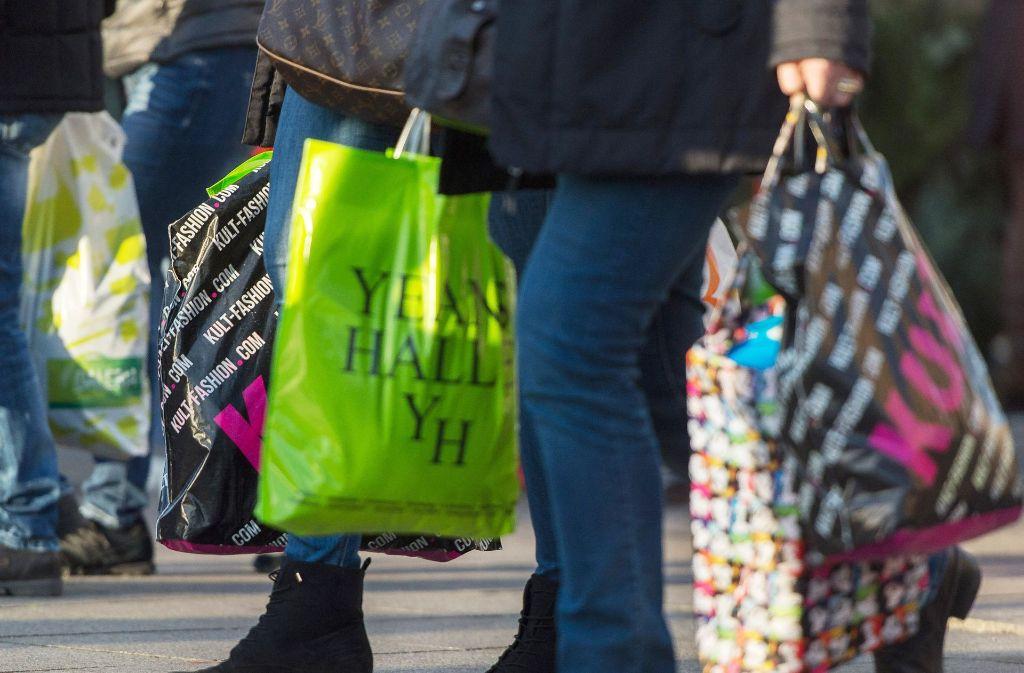 Auch der private Konsum beflügelt derzeit die Konjunktur im Land. Foto: dpa