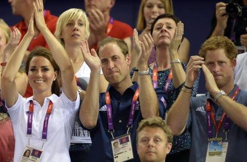 Kate, Will, Harry: Das Gesicht der Spiele