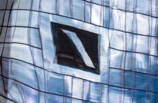 Milliardenminus bei der   Deutschen Bank