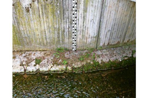 Wasser aus Bächen, Flüssen und Seen ist ab sofort tabu