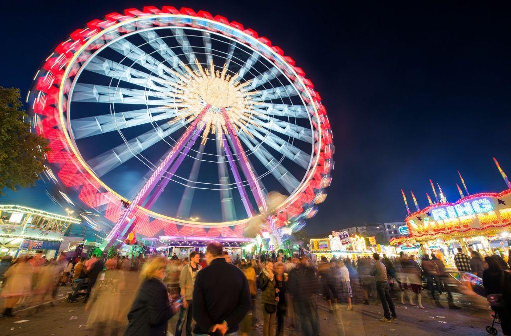 Das Cannstatter Volksfest findet in diesem Jahr vom 22. September bis zum 8. Oktober statt. Foto: dpa