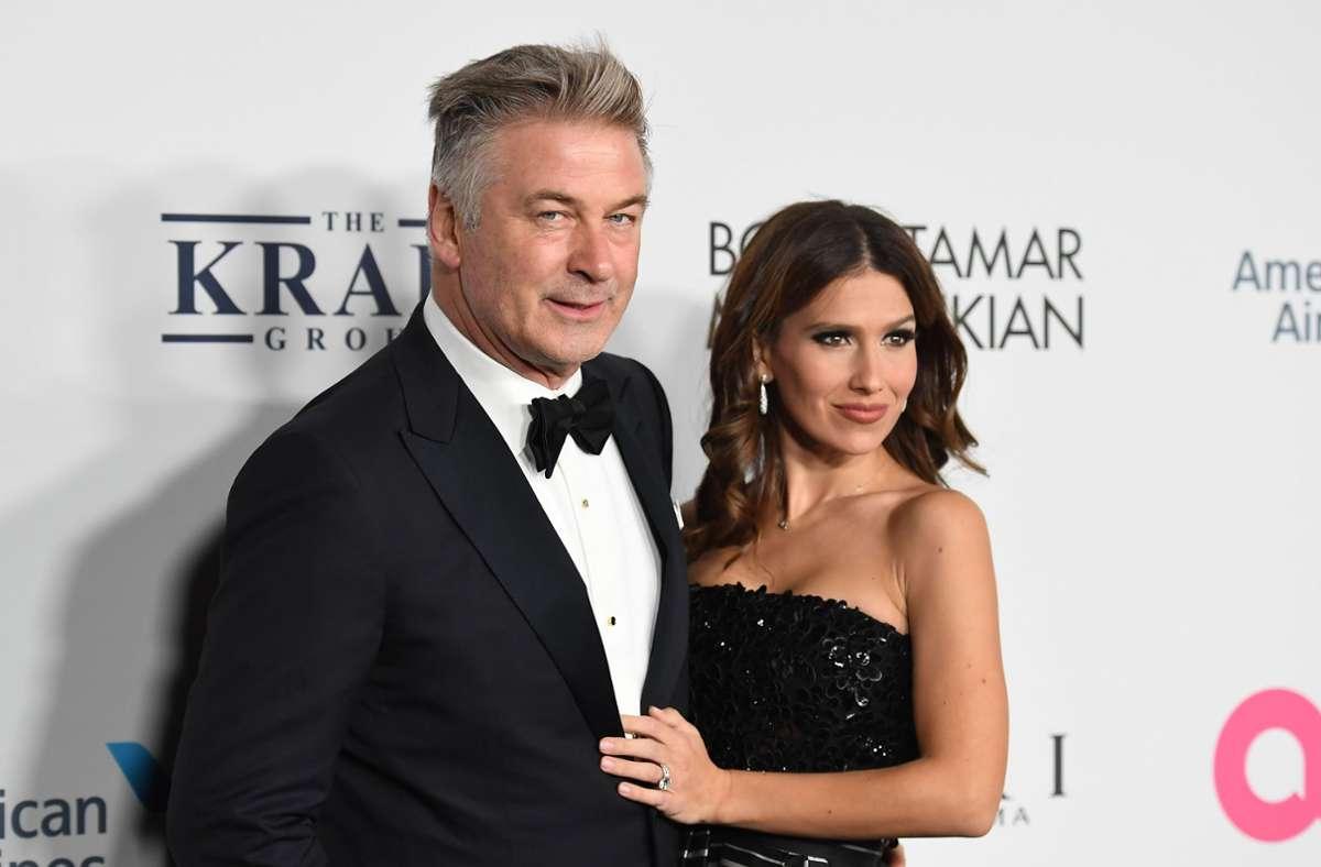Hilaria und Alec Baldwin sind seit 2012 verheiratet. Foto: AFP/ANGELA WEISS