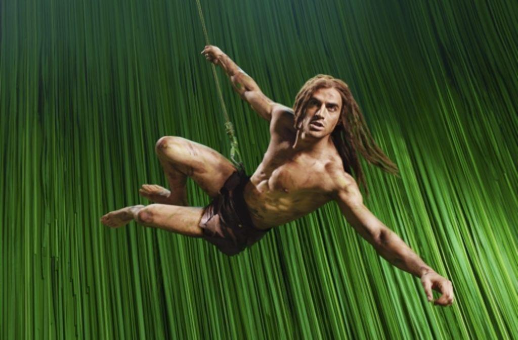Der Tarzan-Darsteller Gian Marco Schiaretti. Foto: Stage Entertainment