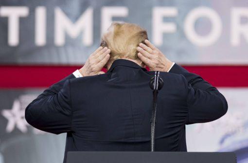 """Donald Trump und """"der mit der Sonnenbrille"""""""