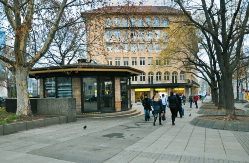 "Der Block hinter dem Pavillon ""Palast der Republik"" wird umgebaut. Foto: Katharina Sorg"