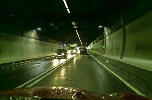 Heslacher Tunnel muss für neue Beleuchtung gesperrt werden