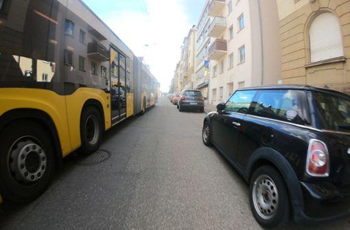 Stuttgarter Radfahrer oft zu eng überholt