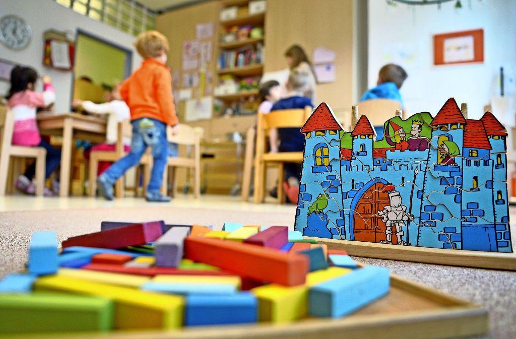 In Steinenbronn gibt es Zoff wegen einer Kindergartenerweiterung. Foto: dpa