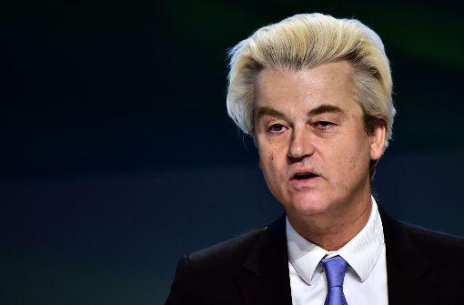 Gericht spricht Rechtspopulisten Wilders schuldig