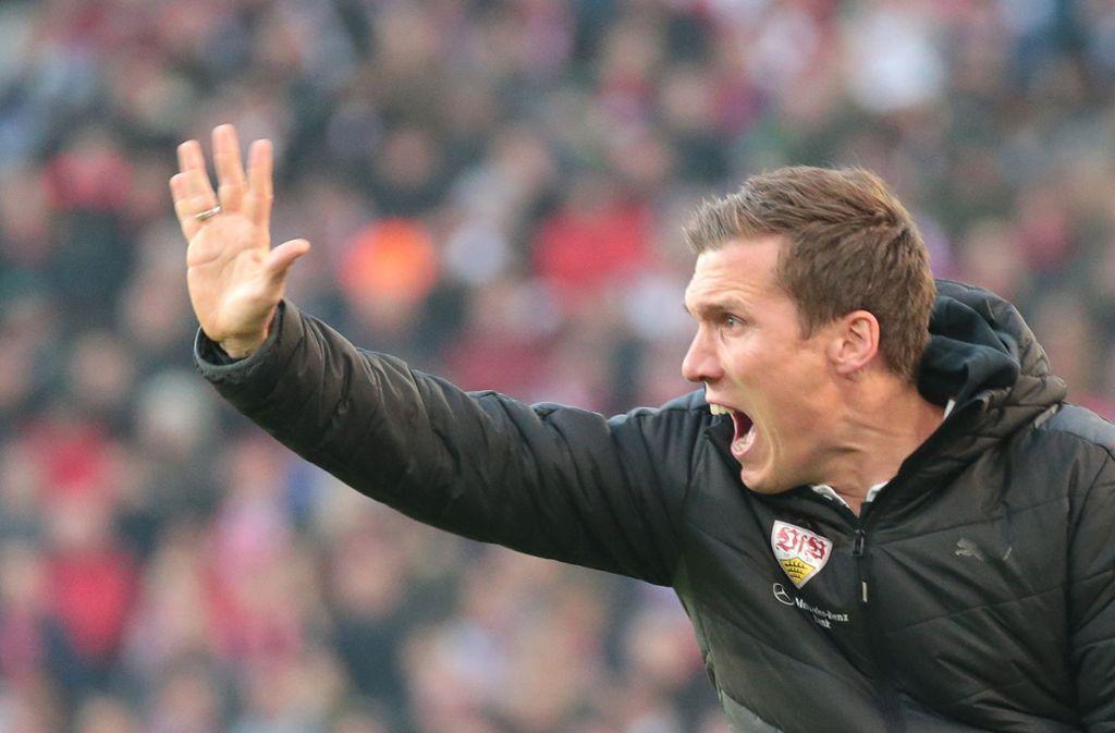 Fast eineinhalb Jahre beim VfB: Ex-Trainer Hannes Wolf Foto: Baumann