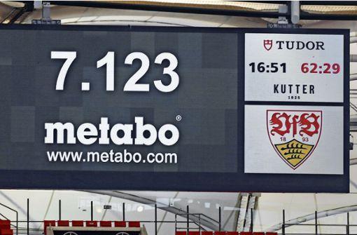Warum beim VfB Stuttgart weniger Fans auftauchen