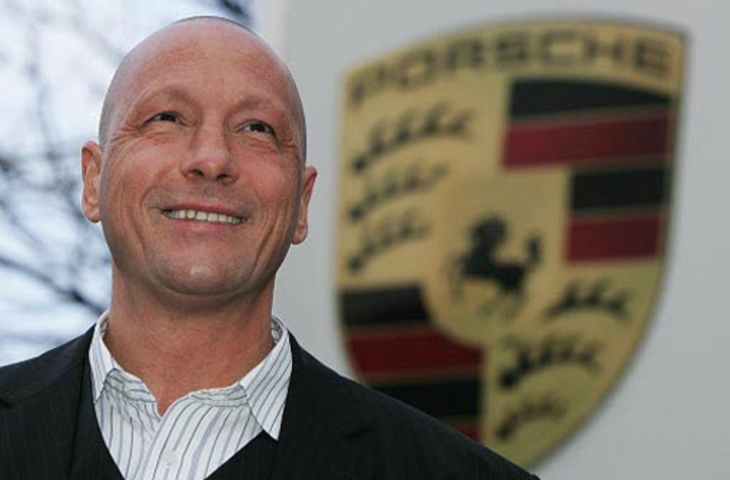 Uwe Hück ist Betriebsratschef bei Porsche und ärgert sich über Winfried Kretschmann. Foto: apn